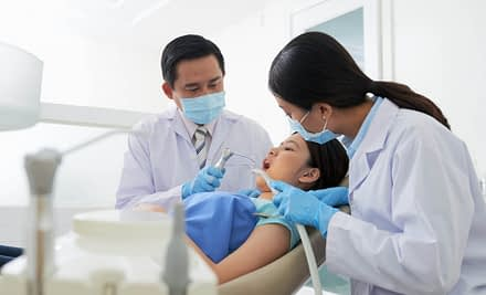 What do dentists look for in a check up?