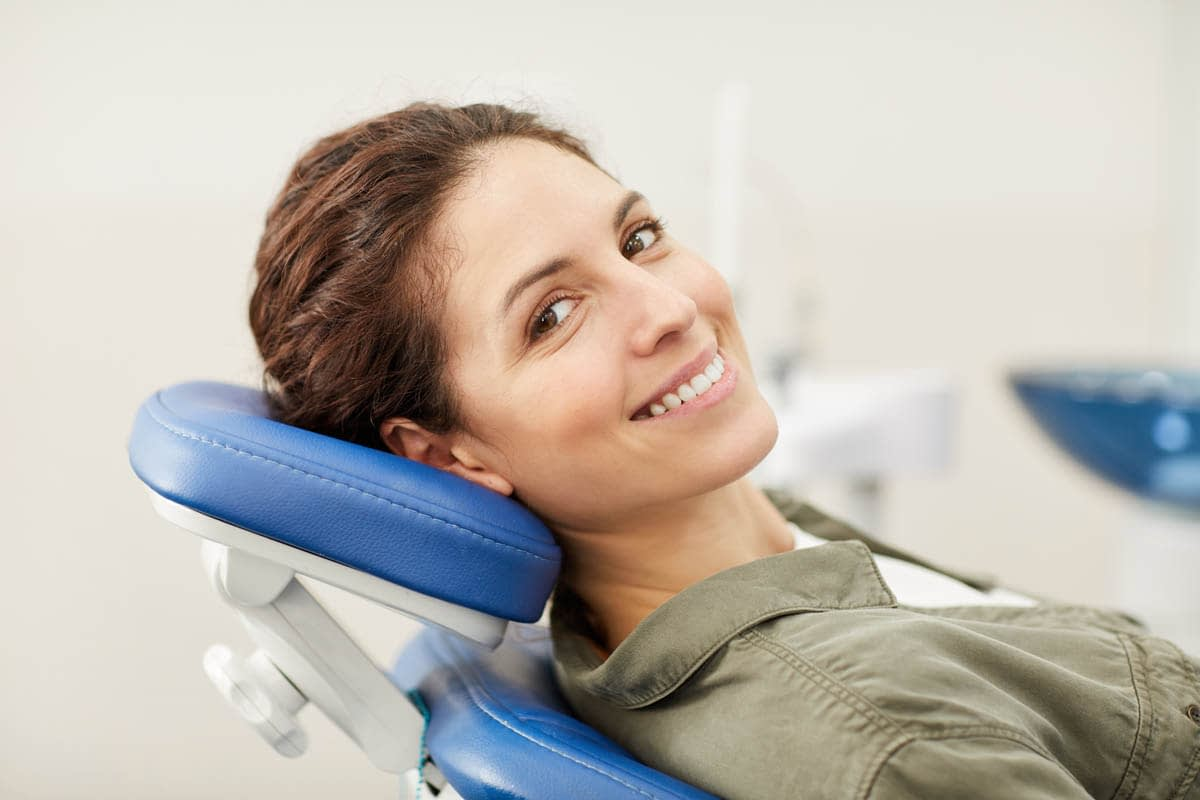 Woman at Dentists Consultation